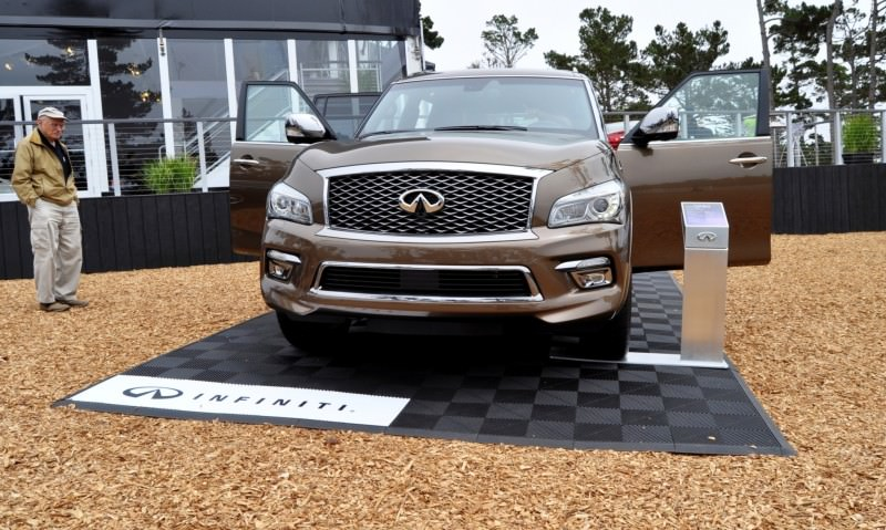 Car-Revs-Daily.com 2015 INFINITI QX80 Limited Pebble Beach 100