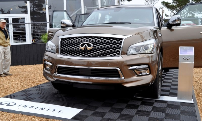 Car-Revs-Daily.com 2015 INFINITI QX80 Limited Pebble Beach 101