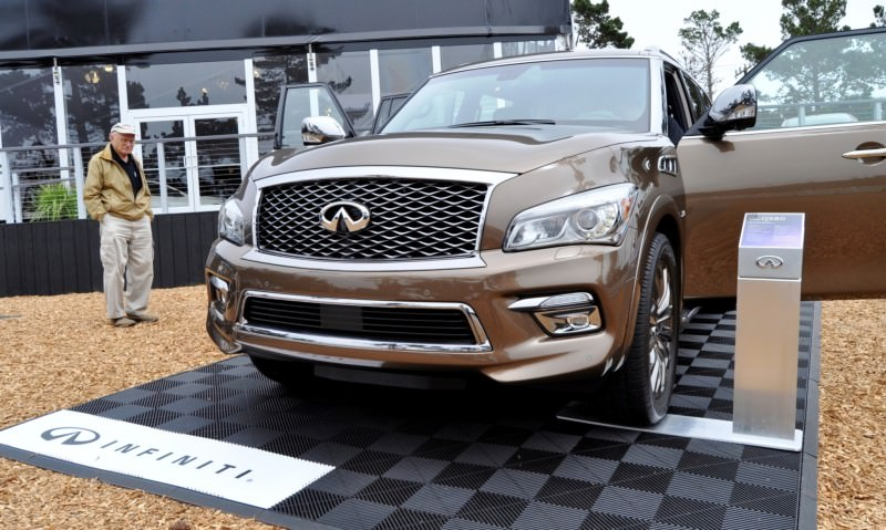 Car-Revs-Daily.com 2015 INFINITI QX80 Limited Pebble Beach 102