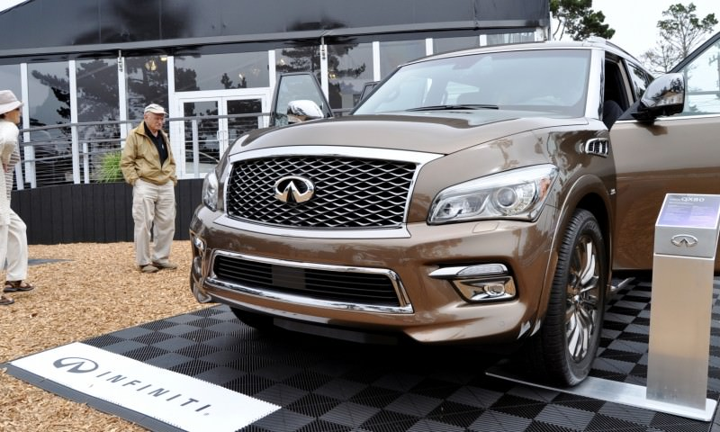 Car-Revs-Daily.com 2015 INFINITI QX80 Limited Pebble Beach 103