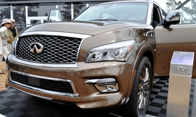 Car-Revs-Daily.com 2015 INFINITI QX80 Limited Pebble Beach 105