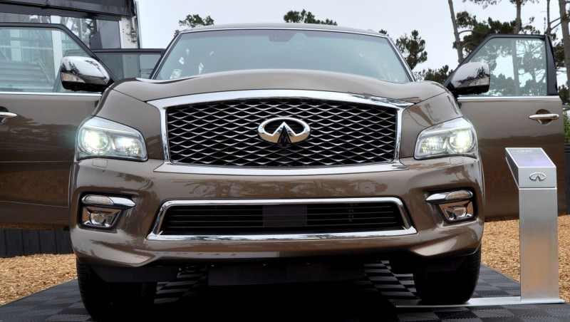 Car-Revs-Daily.com 2015 INFINITI QX80 Limited Pebble Beach 114