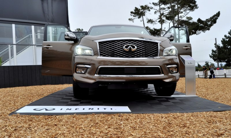 Car-Revs-Daily.com 2015 INFINITI QX80 Limited Pebble Beach 116