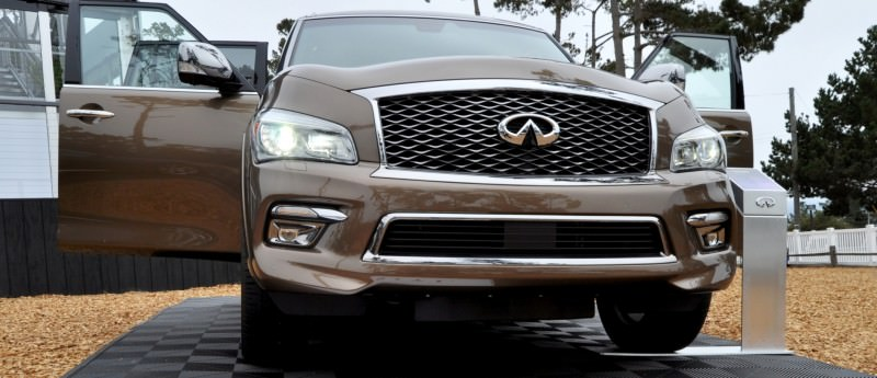 Car-Revs-Daily.com 2015 INFINITI QX80 Limited Pebble Beach 118
