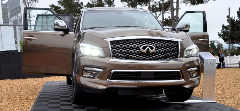 Car-Revs-Daily.com 2015 INFINITI QX80 Limited Pebble Beach 120