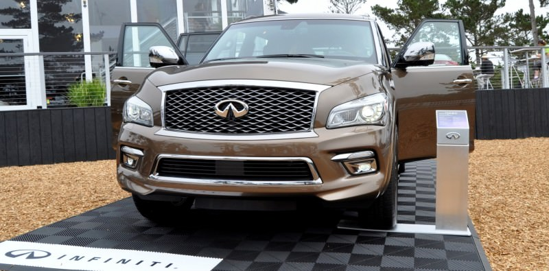 Car-Revs-Daily.com 2015 INFINITI QX80 Limited Pebble Beach 122