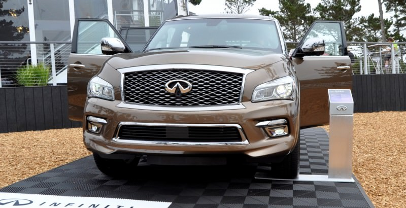 Car-Revs-Daily.com 2015 INFINITI QX80 Limited Pebble Beach 123