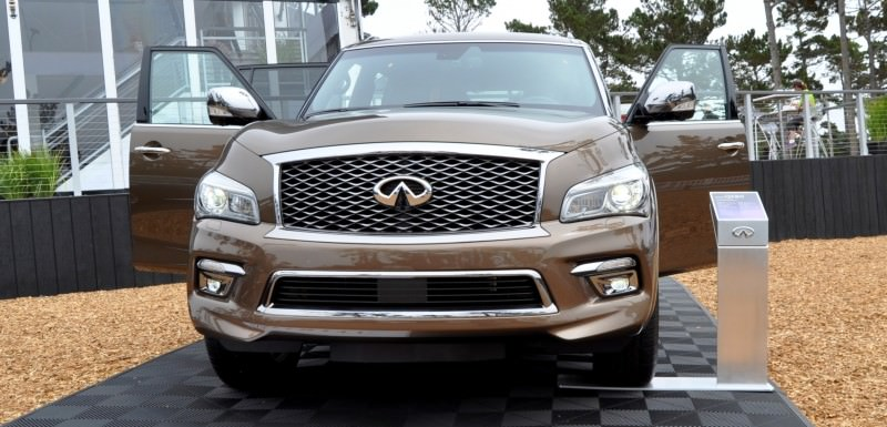 Car-Revs-Daily.com 2015 INFINITI QX80 Limited Pebble Beach 124