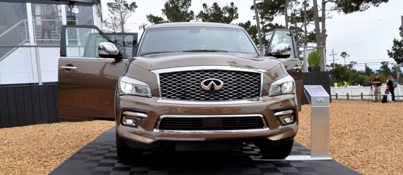 Car-Revs-Daily.com 2015 INFINITI QX80 Limited Pebble Beach 127