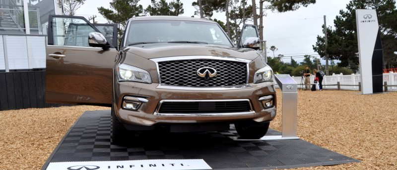 Car-Revs-Daily.com 2015 INFINITI QX80 Limited Pebble Beach 128