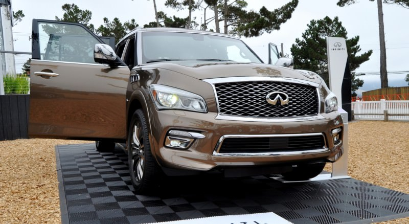 Car-Revs-Daily.com 2015 INFINITI QX80 Limited Pebble Beach 130