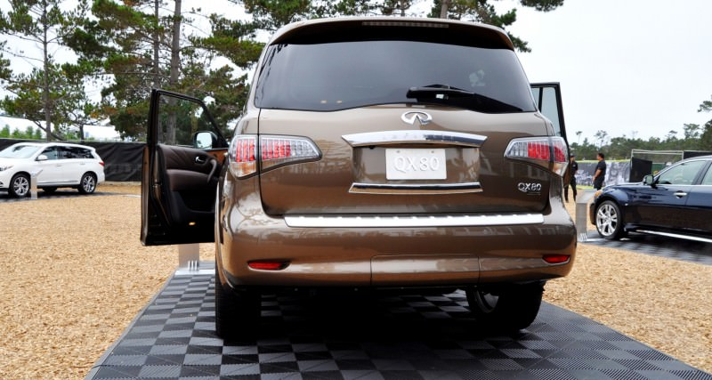Car-Revs-Daily.com 2015 INFINITI QX80 Limited Pebble Beach 131