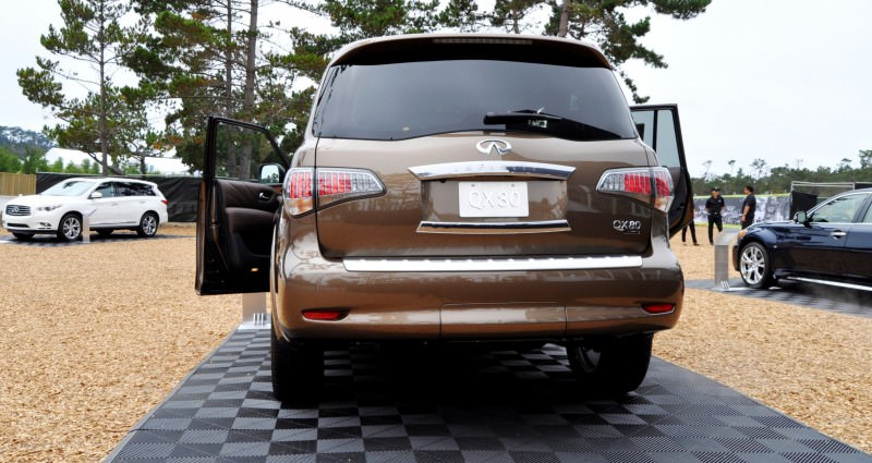 Car-Revs-Daily.com 2015 INFINITI QX80 Limited Pebble Beach 132
