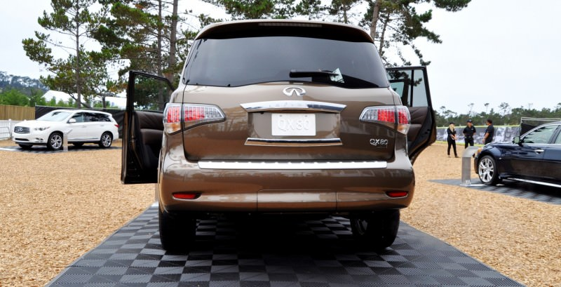 Car-Revs-Daily.com 2015 INFINITI QX80 Limited Pebble Beach 133