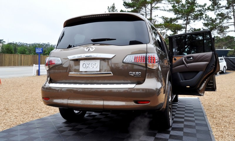 Car-Revs-Daily.com 2015 INFINITI QX80 Limited Pebble Beach 137