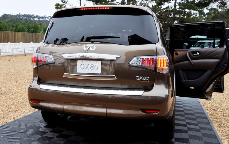 Car-Revs-Daily.com 2015 INFINITI QX80 Limited Pebble Beach 148