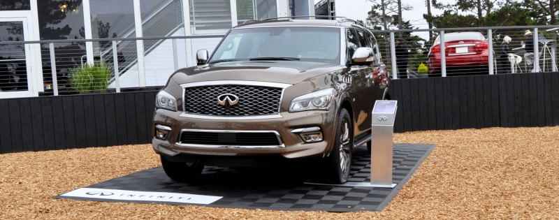 Car-Revs-Daily.com 2015 INFINITI QX80 Limited Pebble Beach 17