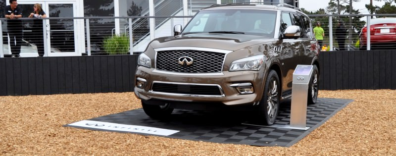Car-Revs-Daily.com 2015 INFINITI QX80 Limited Pebble Beach 18