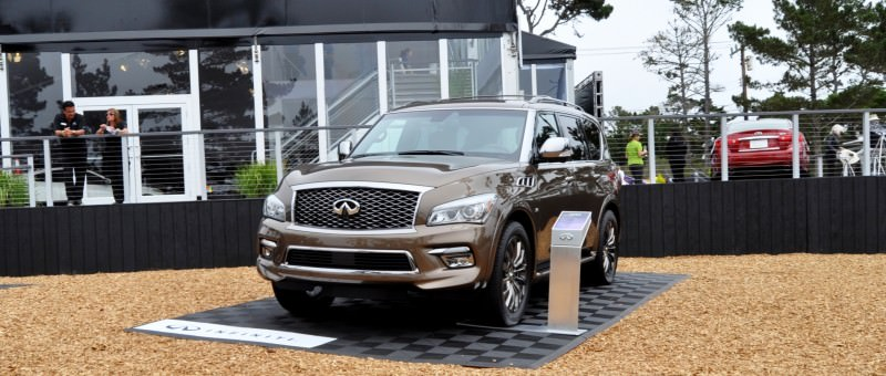 Car-Revs-Daily.com 2015 INFINITI QX80 Limited Pebble Beach 19