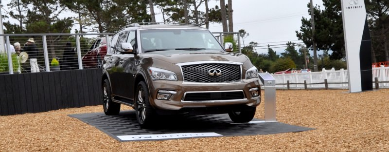 Car-Revs-Daily.com 2015 INFINITI QX80 Limited Pebble Beach 2