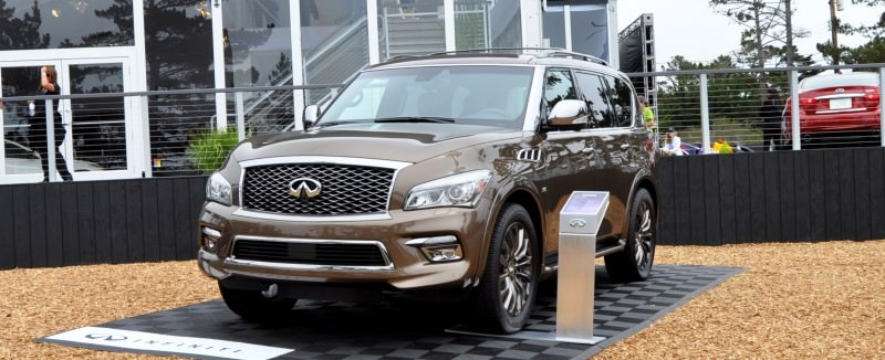 Car-Revs-Daily.com 2015 INFINITI QX80 Limited Pebble Beach 20