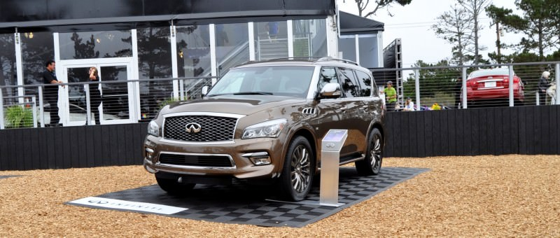 Car-Revs-Daily.com 2015 INFINITI QX80 Limited Pebble Beach 21