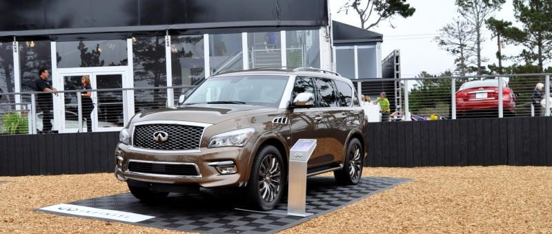 Car-Revs-Daily.com 2015 INFINITI QX80 Limited Pebble Beach 22