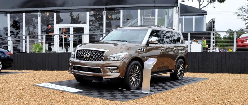 Car-Revs-Daily.com 2015 INFINITI QX80 Limited Pebble Beach 23