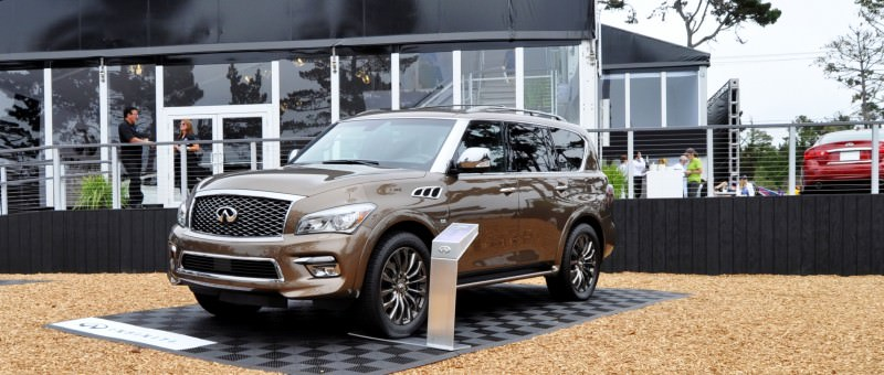 Car-Revs-Daily.com 2015 INFINITI QX80 Limited Pebble Beach 24