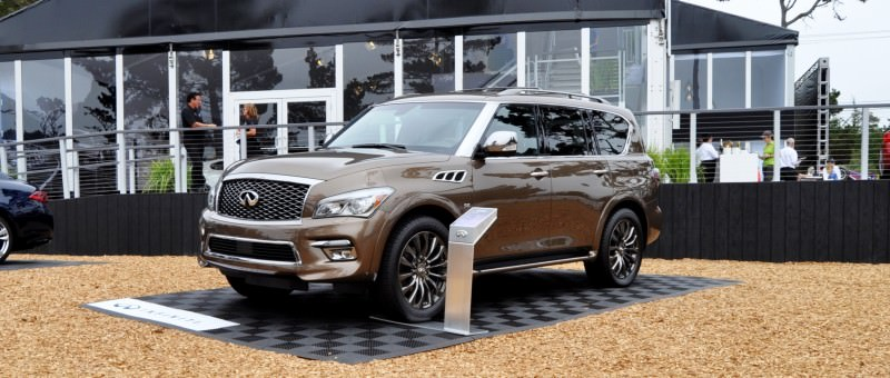 Car-Revs-Daily.com 2015 INFINITI QX80 Limited Pebble Beach 25