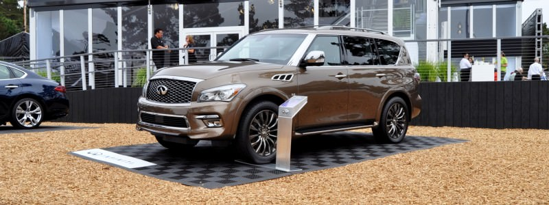 Car-Revs-Daily.com 2015 INFINITI QX80 Limited Pebble Beach 26