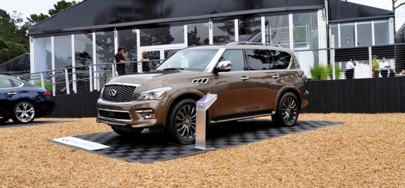 Car-Revs-Daily.com 2015 INFINITI QX80 Limited Pebble Beach 27