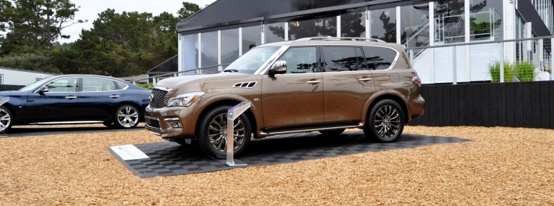 Car-Revs-Daily.com 2015 INFINITI QX80 Limited Pebble Beach 31