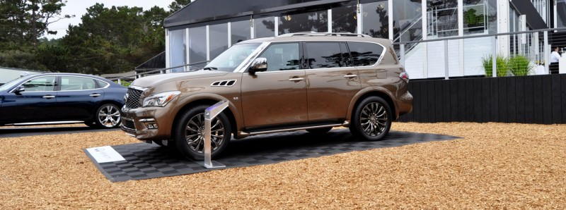 Car-Revs-Daily.com 2015 INFINITI QX80 Limited Pebble Beach 32
