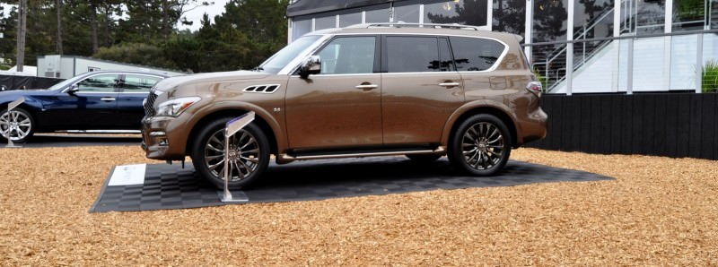 Car-Revs-Daily.com 2015 INFINITI QX80 Limited Pebble Beach 35