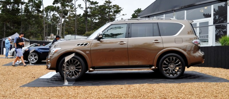 Car-Revs-Daily.com 2015 INFINITI QX80 Limited Pebble Beach 36