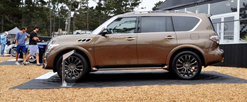 Car-Revs-Daily.com 2015 INFINITI QX80 Limited Pebble Beach 37
