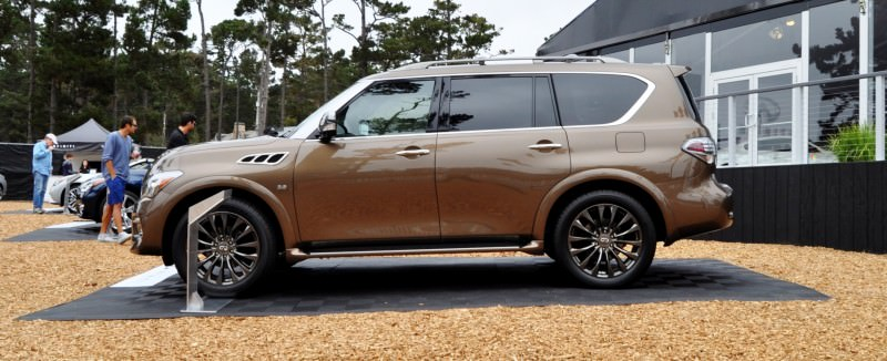 Car-Revs-Daily.com 2015 INFINITI QX80 Limited Pebble Beach 38