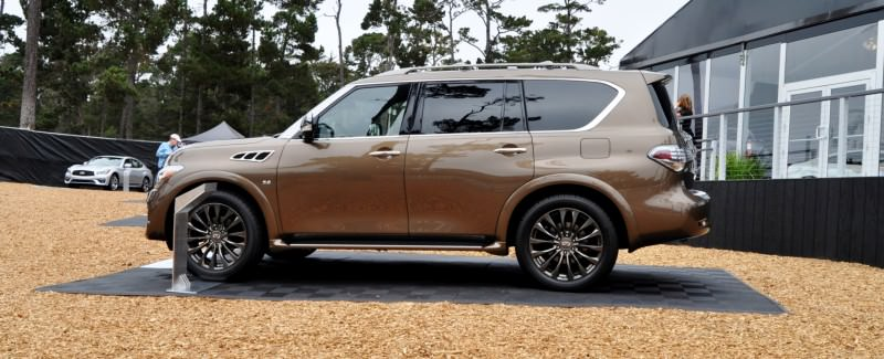 Car-Revs-Daily.com 2015 INFINITI QX80 Limited Pebble Beach 40