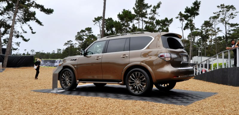 Car-Revs-Daily.com 2015 INFINITI QX80 Limited Pebble Beach 42