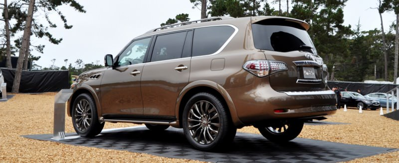 Car-Revs-Daily.com 2015 INFINITI QX80 Limited Pebble Beach 43