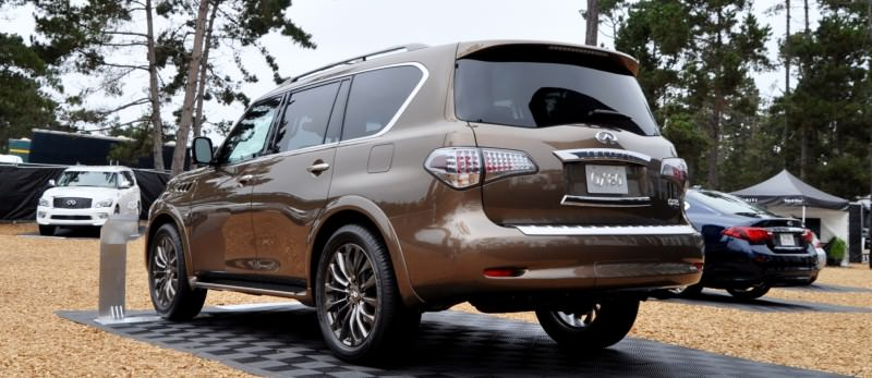 Car-Revs-Daily.com 2015 INFINITI QX80 Limited Pebble Beach 45