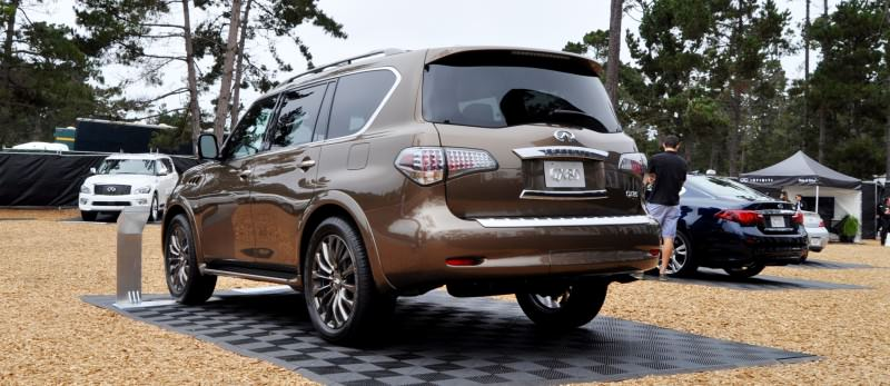 Car-Revs-Daily.com 2015 INFINITI QX80 Limited Pebble Beach 46