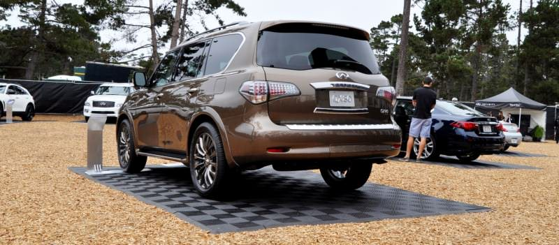 Car-Revs-Daily.com 2015 INFINITI QX80 Limited Pebble Beach 47