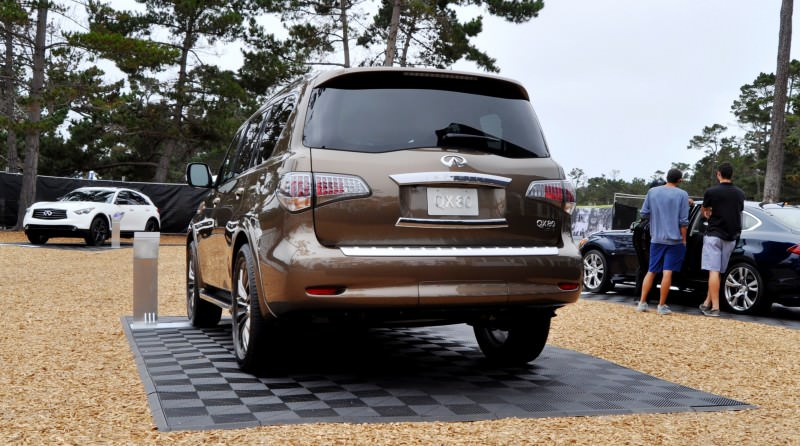 Car-Revs-Daily.com 2015 INFINITI QX80 Limited Pebble Beach 50