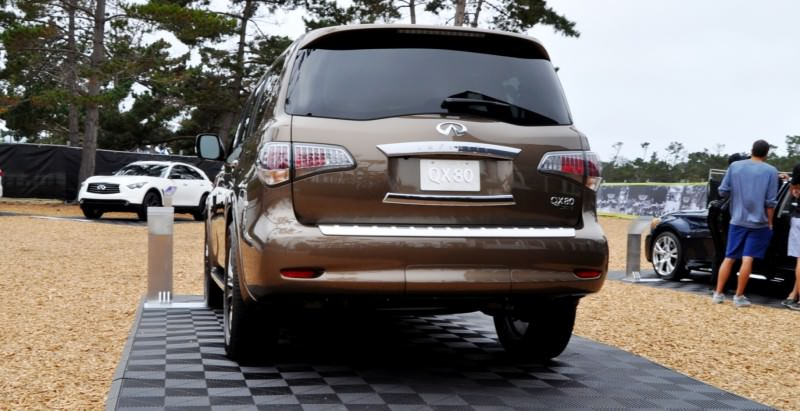 Car-Revs-Daily.com 2015 INFINITI QX80 Limited Pebble Beach 51