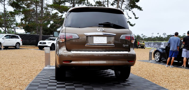 Car-Revs-Daily.com 2015 INFINITI QX80 Limited Pebble Beach 52