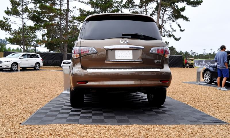 Car-Revs-Daily.com 2015 INFINITI QX80 Limited Pebble Beach 54