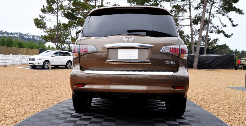 Car-Revs-Daily.com 2015 INFINITI QX80 Limited Pebble Beach 56