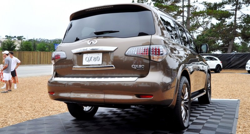 Car-Revs-Daily.com 2015 INFINITI QX80 Limited Pebble Beach 59